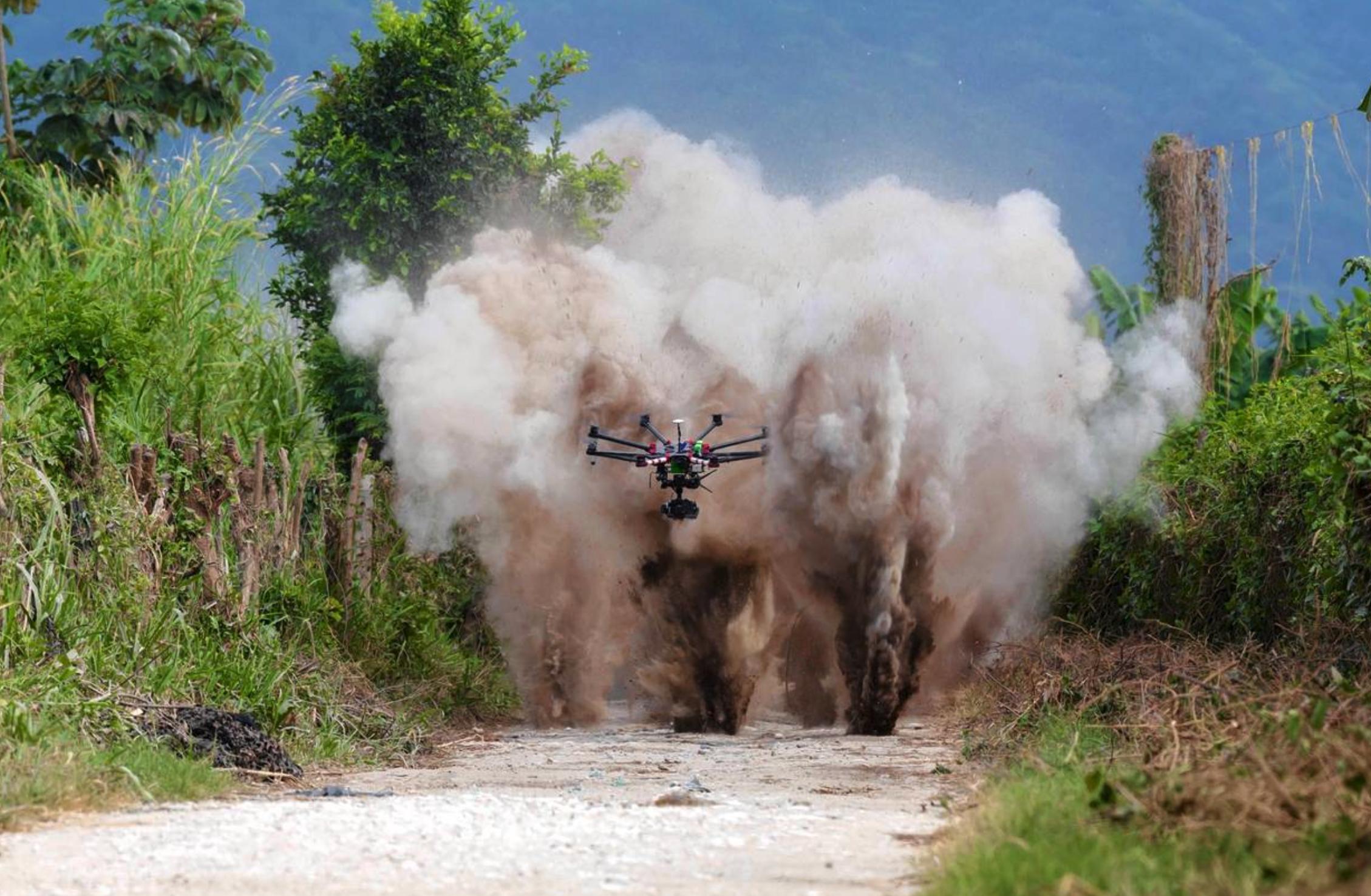 TV cinema drone video drone photography